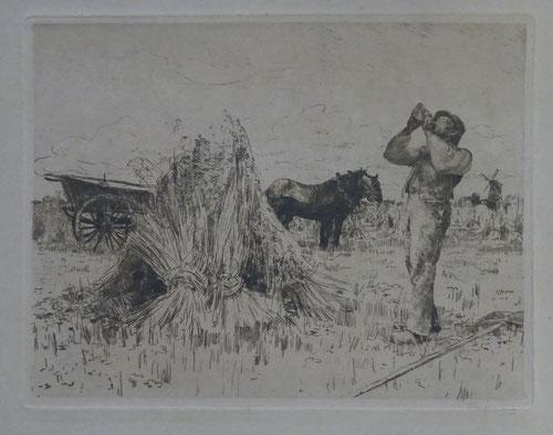 Waalko Jans Dingemans, kunstenaar, kunstschilder, Zierikzee, ets te koop