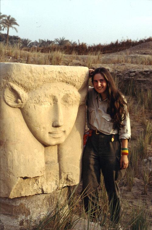 Hathortempel, Memphis, Ägypten, 1992.
