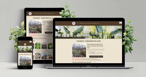 création jardinerie en ligne