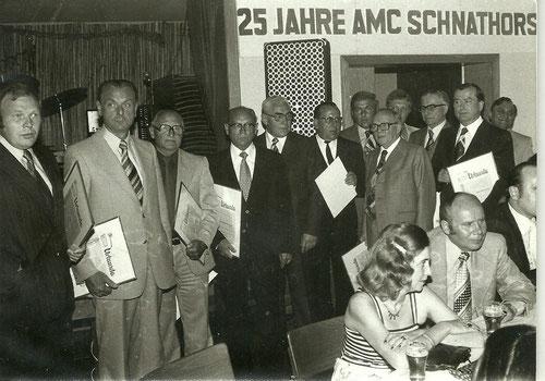 25 Jahre AMC Schnathorst - Ehrung langjähriger Mitglieder