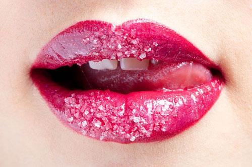 Lippenpeeling