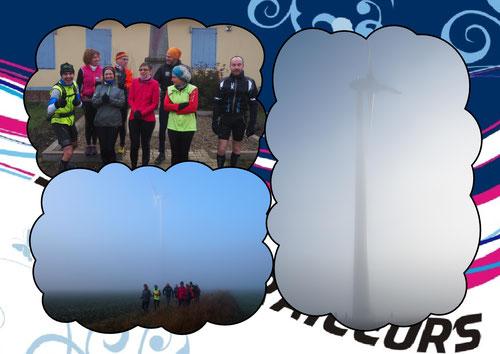Photo1, de g à d: JPh, Valérie, Delphine, Martin, Badette, Christian, Céline, Manu et J-Michel derrière l'appareil.