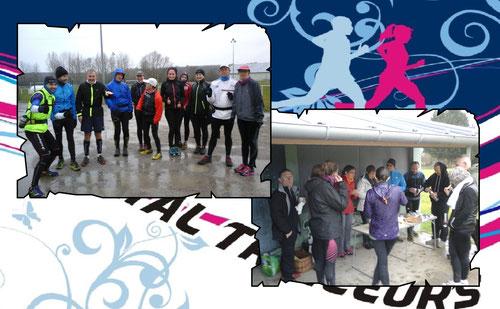 Photo1 de g à d: JPh, Manu, Dominique, José, Christine, Martin, Elodie, Laëtitia, Brigitte, J-Michel et Badette (photo de Céline)