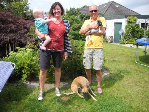 Asmo heißt jetzt Timon und wohnt seit dem 26. Juli in Ritterhude bei Eva und Harald Schiff
