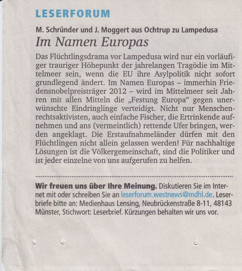 M. Schründer & J. Moggert, Ochtrup