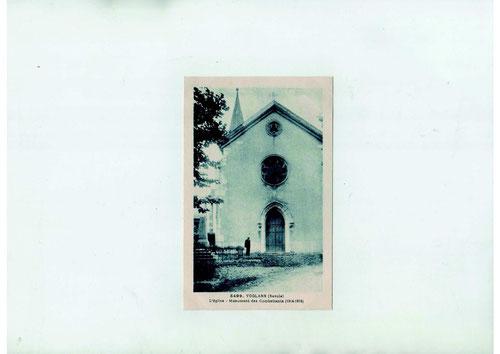 L'église dans les années 1920-1930