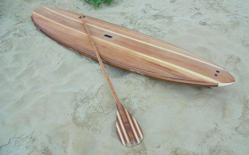 Paddle en bois menuiserie saint jean de monts saint hilaire de riez