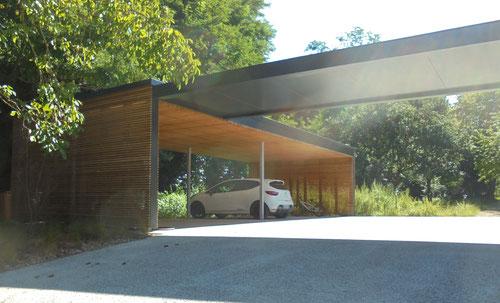 carport bois challans