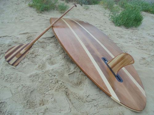 stand up paddle bois menuiserie saint jean de monts noirmoutier