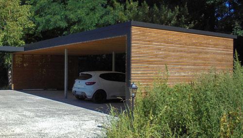 carport en bois noirmoutier vendee