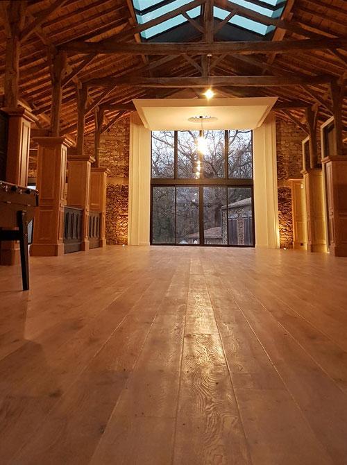 parquet et aménagement intérieur noirmoutier challans