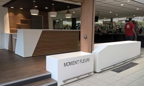 mobilier d'accueil et agencement