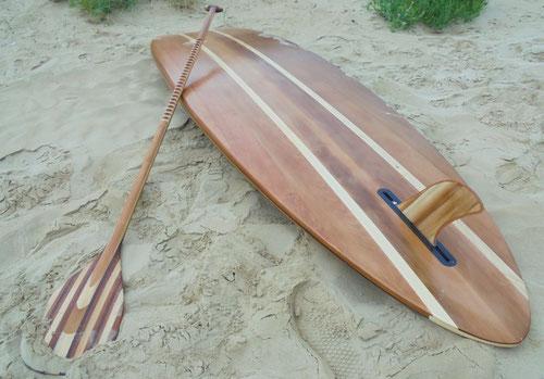 stand up paddle en bois menuisier saint jean de monts