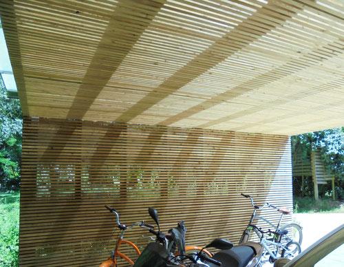 carport en bois menuiserie challans