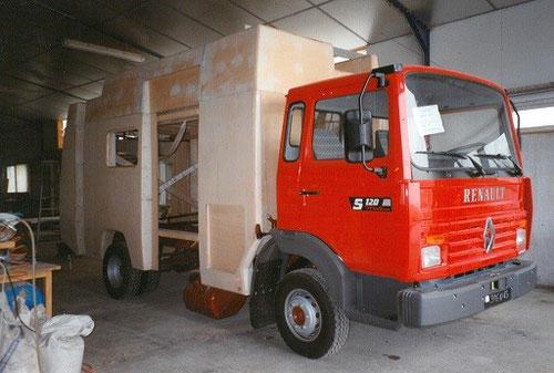 camion-pompier technibois-menuiserie-trichereau