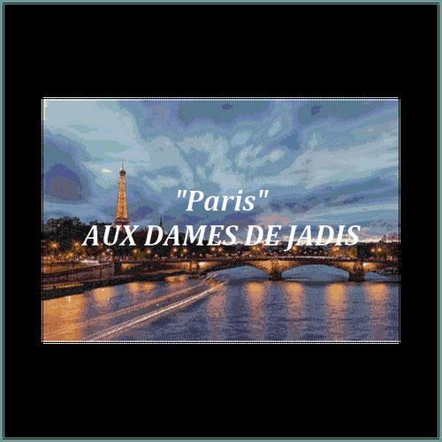Paris/pont invalides/tapisserie/tapestry/pattern-peyote-seed beads-miyuki-délica-auxdamesdejadis