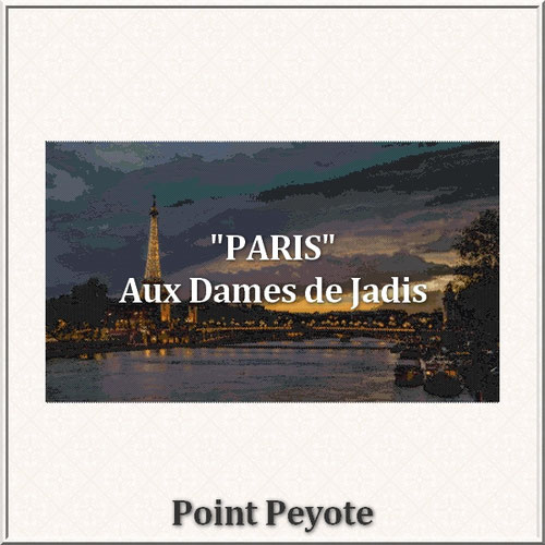 Paris/pont alexandre III/tapisserie/tapestry/pattern-peyote-seed beads-miyuki-délica-auxdamesdejadis