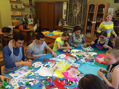 выездные мастер-классы для детей в Москве