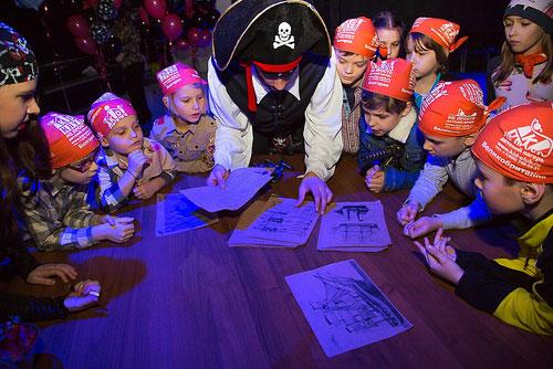 Квесты для детей на детский праздник и день рождения в Москве