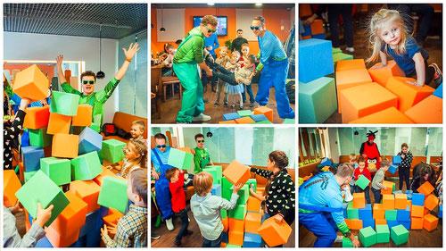 Поролоновое шоу для детей на детский праздник или день рождения ребенка в Москве