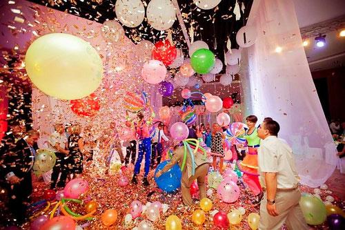 Шоу воздушных шаров на детский день рождения ребенка Москва