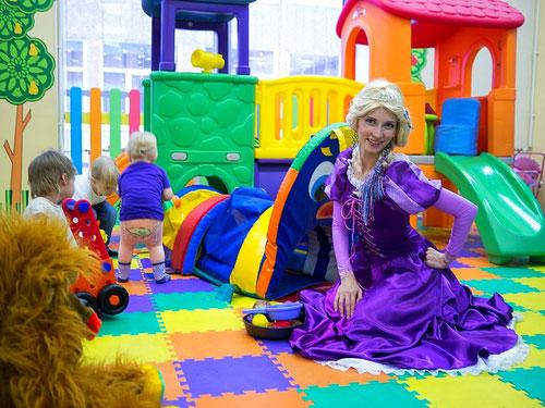 аниматор рапунцель на детский праздник день рождения ребенка москва на дом детский сад школу