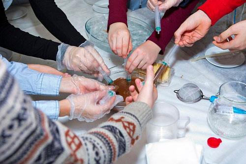 молекулярная кухня на детский или взрослый праздник в Москве