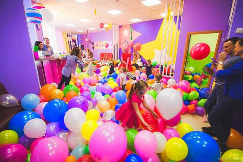 Шоу шаров на детский праздник и день рождения ребенка