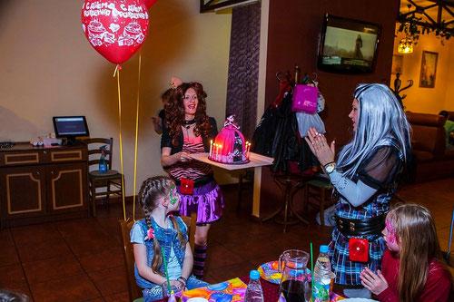 Аниматор монстр хай клодин вульф на детский праздник или день рождения ребенка на дом детский сад москва