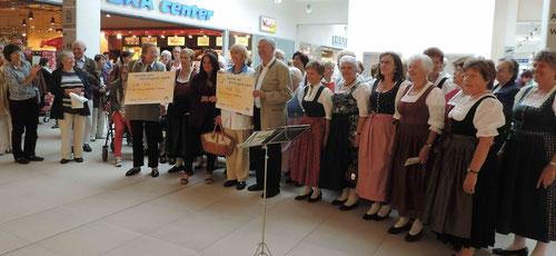 """""""Singwette"""" im HEP Holzkirchen - alle Fotos Peter Winter (Feriengast in Schliersee)"""