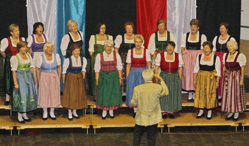 Teilnahme am Großen ChorKonzert des Sängerkreis in der Oberlandhalle Miesbach