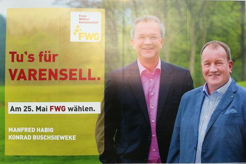 Link zur FWG Rietberg - Kandidaten in Varensell