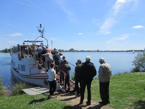 An Bord der MS Seestern