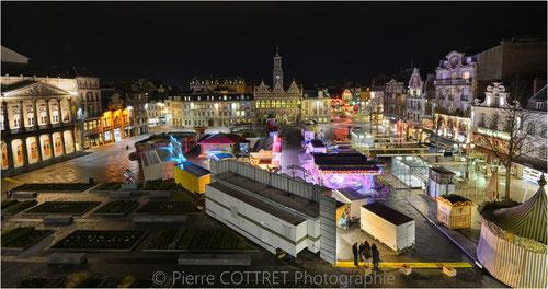 place city ville lumière light saint quentin foire