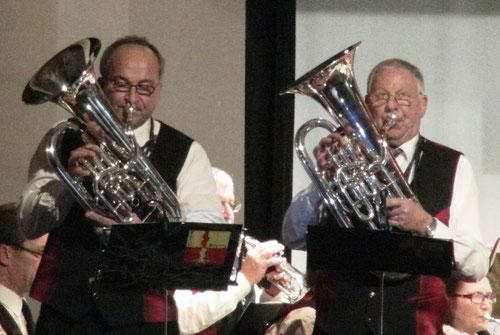 Zwei Solisten, Edi Langhart und Koni Langhart