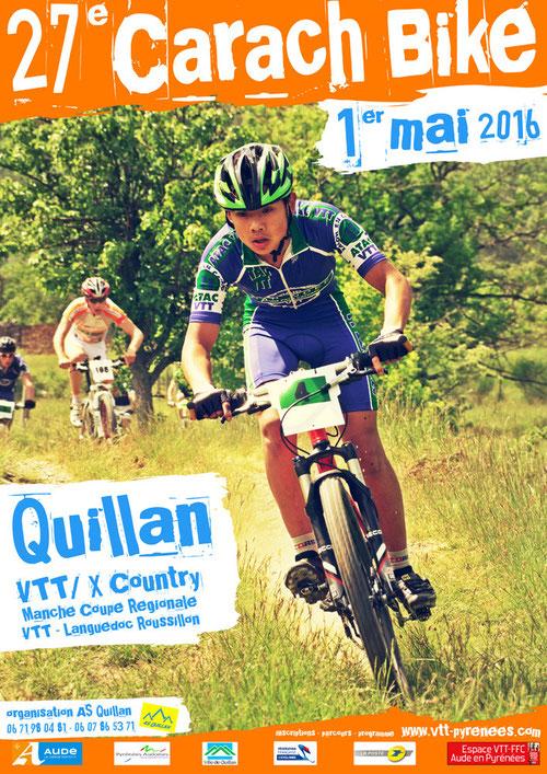 Carach Bike 2016 - AS Quillan - VTT Aude en Pyrénées