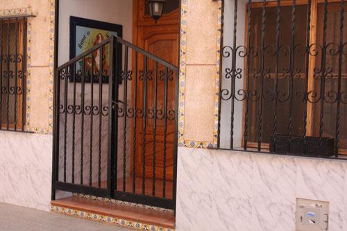 entrada de nuestra vivienda