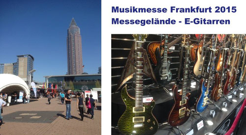 Bildeindrücke von der Musikmesse in Frankfurt - April 2015