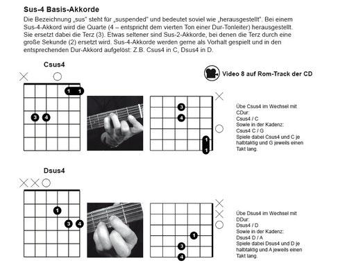 Auszug Seite 22 (Die klingende Akkordtabelle für Gitarre) www.tunesdayrecords.de