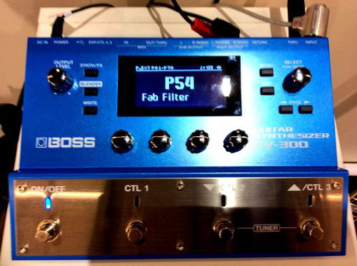 Boss SY 300 Guitar Synthesizer (Music Fair 2015 Frankfurt/Main)