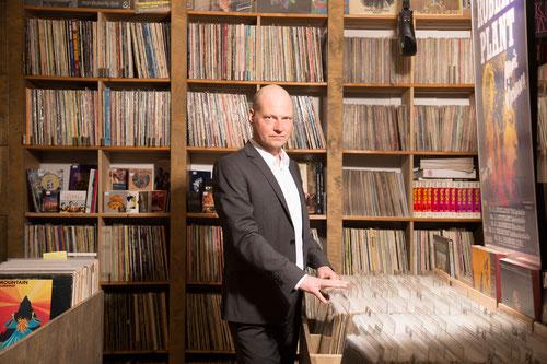 Stefan Clotz - neben dem Coachen ist das Sammeln von Musik eine große Leidenschaft