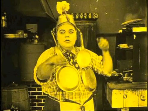 The Cook - Buster Keaton