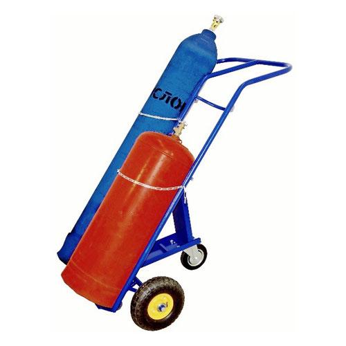 Тележка для перевозки газовых баллонов КП 2