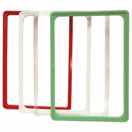 Пластиковая рамка с закруглёнными углами