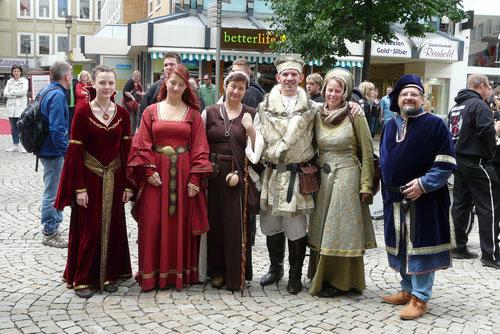 beim diesjährigen Umzug zum Hildesheimer Stadtfest(2013)