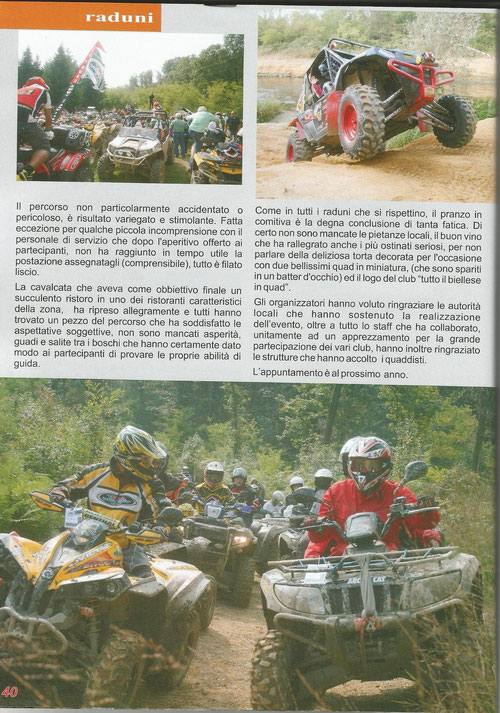 Fun Off Road  novembre/ dicembre 2013