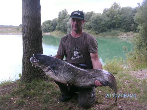 135cm - 17,35kg  Baggersee