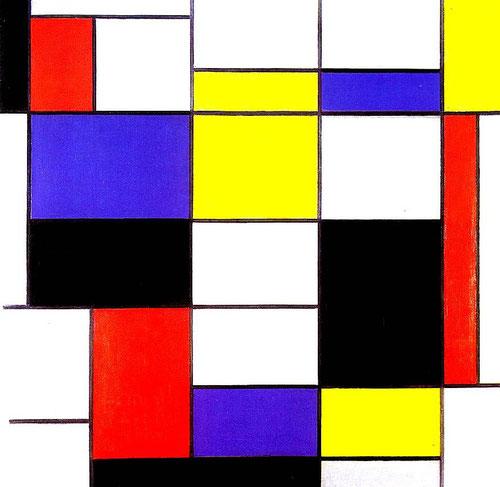 'Composition A' - Piet Mondrian (1923)