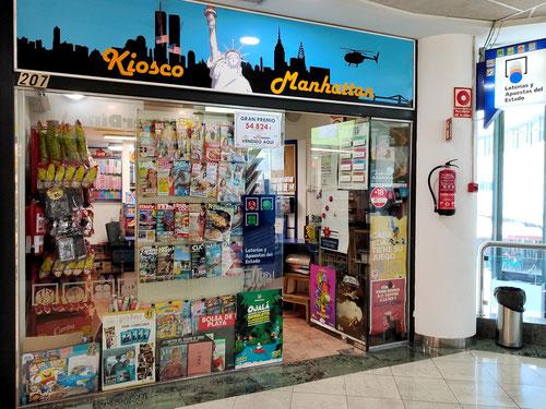 Kiosko y Adm. de Lotería Manhattan en Candelaria - Centro Comercial Punta Larga