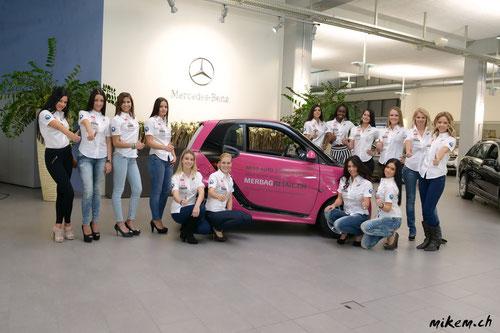 14 Kandidatinnen für die Miss Auto Zürich 2013